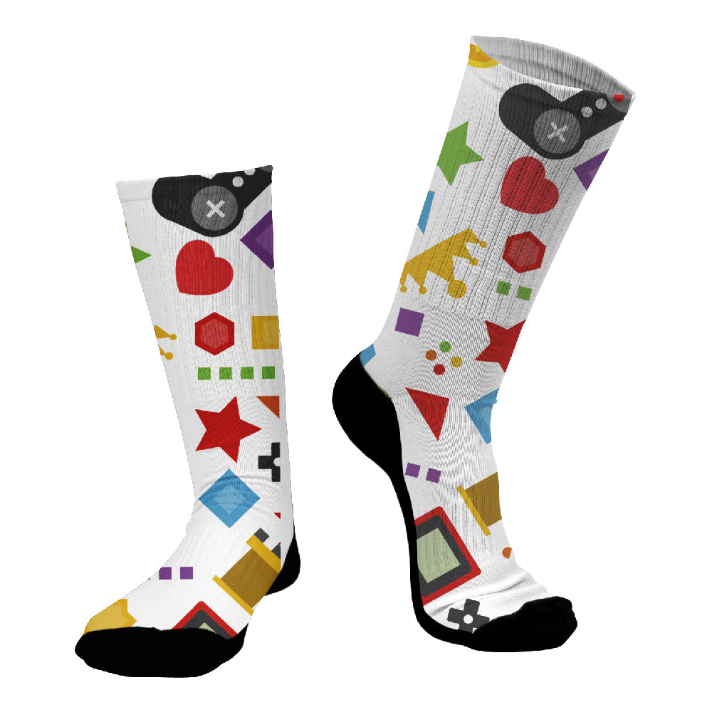 Κάλτσες #doyoudaresocks Digital Printed SuperSport Gamer (code 70121)
