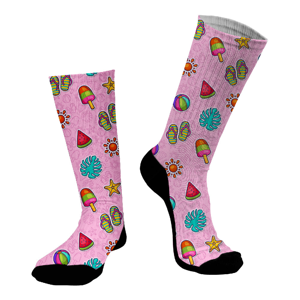 Κάλτσες #doyoudaresocks Digital Printed SuperSport Summer Staff (code 70122)