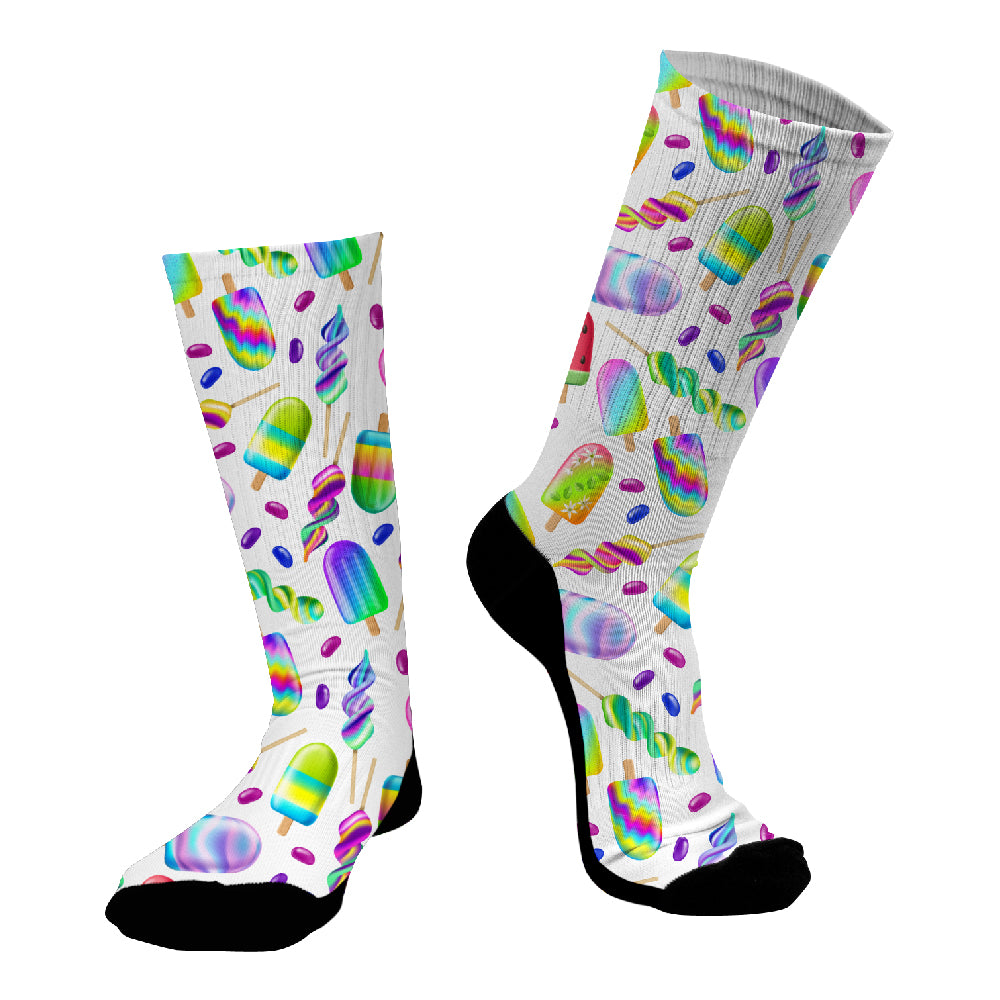 Κάλτσες #doyoudaresocks Digital Printed SuperSport Icecreams (code 70123)