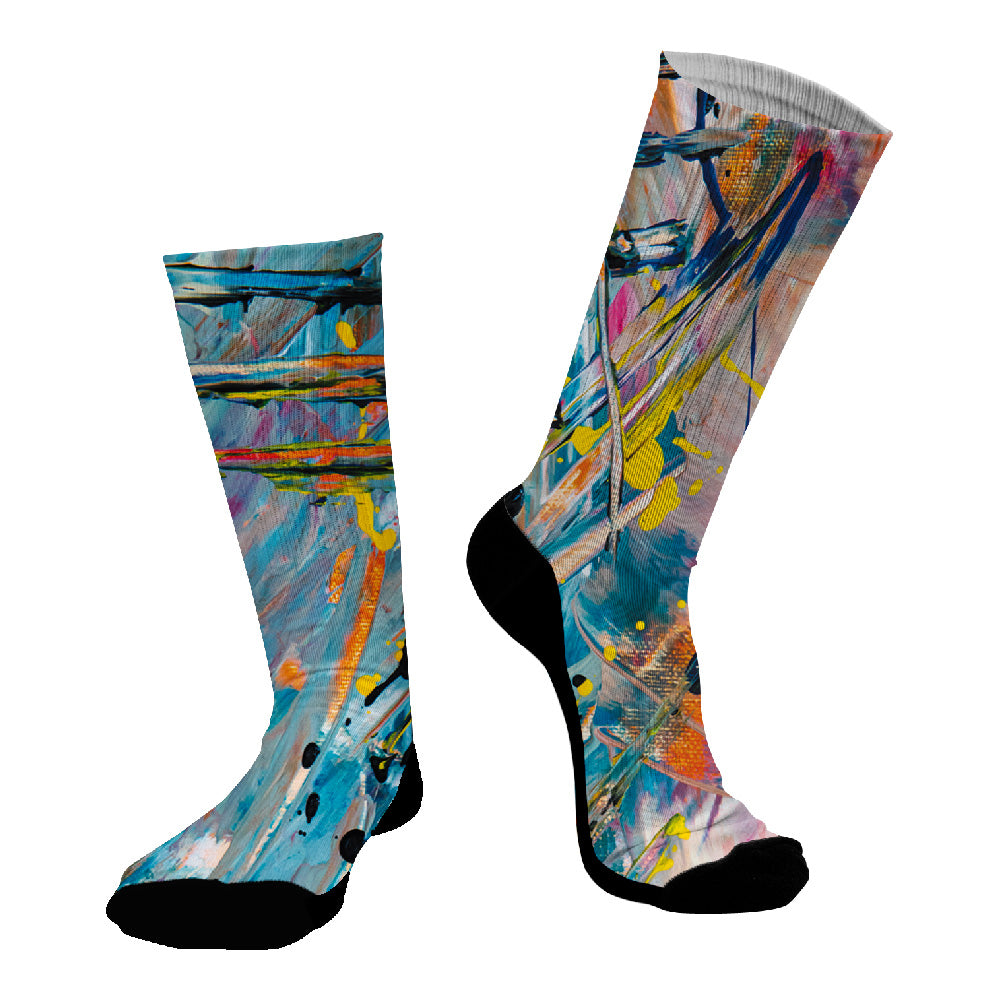 Κάλτσες #doyoudaresocks Digital Printed SuperSport Real Canvas (code 70005)