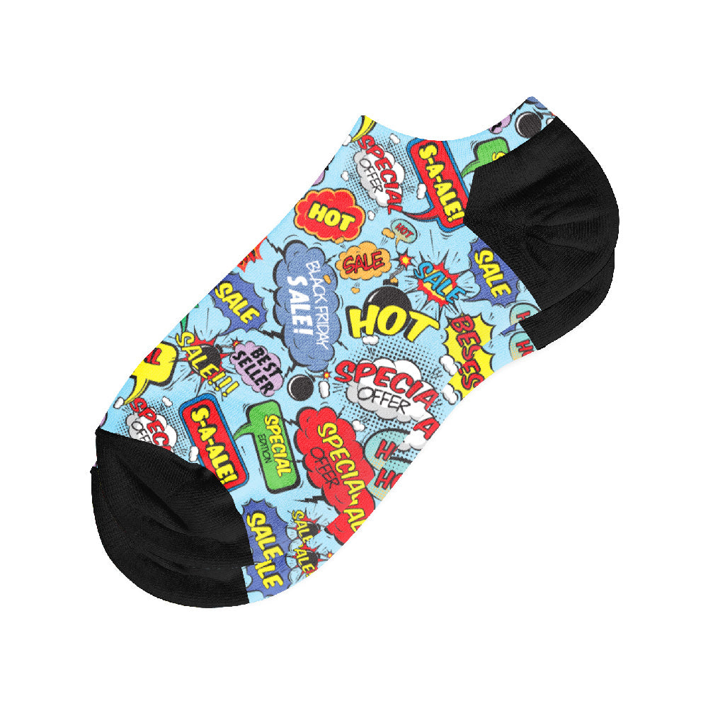 Κάλτσες #doyoudaresocks Digital Printed Σοσόνια Black Friday (code 50067)