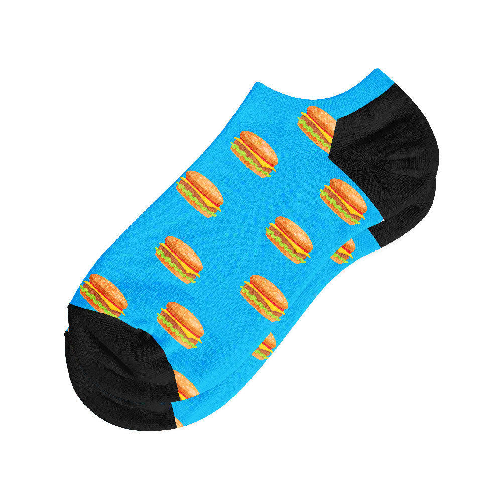 Κάλτσες #doyoudaresocks Digital Printed Σοσόνια Burger (code 50001)