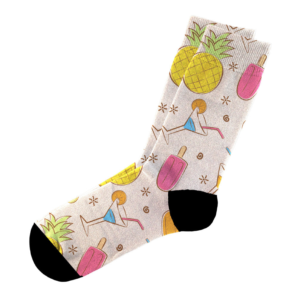 Κάλτσες #doyoudaresocks Digital Printed Casual Cocktails (code 60006)