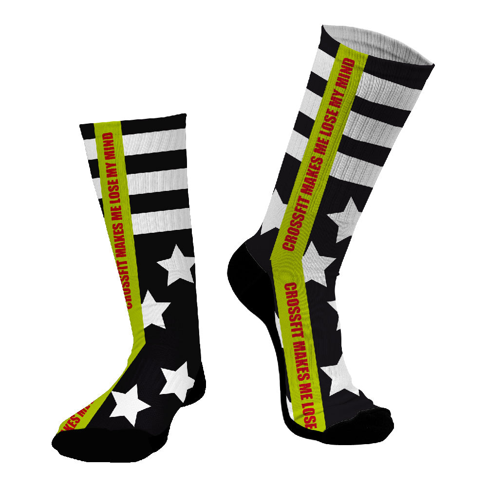 Κάλτσες #doyoudaresocks Digital Printed SuperSport CrossFit Stars (code 70053)