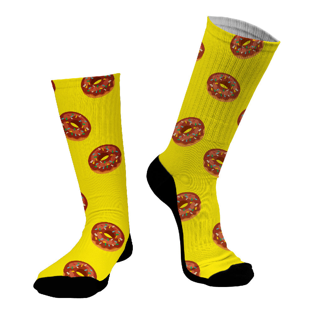 Κάλτσες #doyoudaresocks Digital Printed SuperSport Donuts (code 70012)