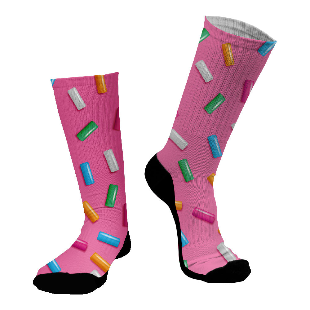Κάλτσες #doyoudaresocks Digital Printed SuperSport Jellies (code 70042)