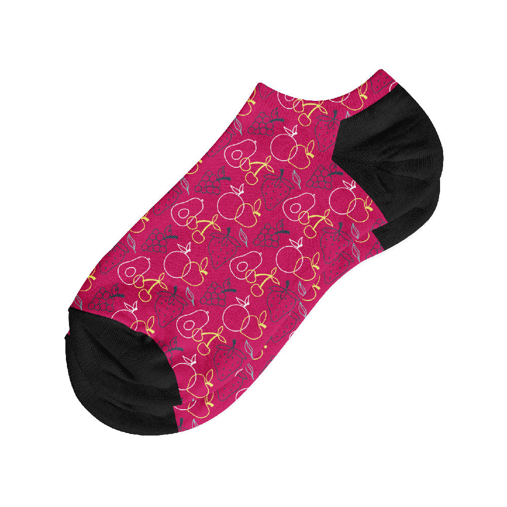 Κάλτσες #doyoudaresocks Digital Printed Σοσόνια Neon Fruits (code 50017)