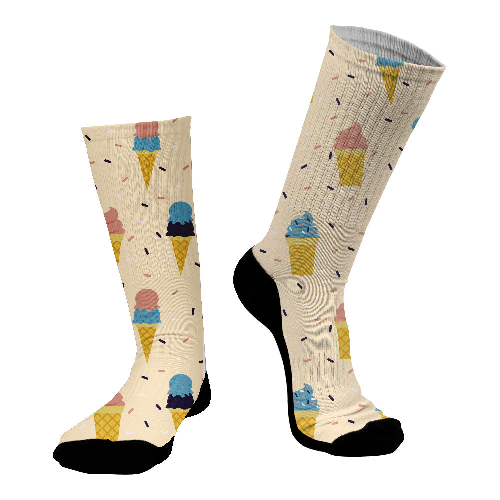 Κάλτσες #doyoudaresocks Digital Printed SuperSport Icecream (code 70027)