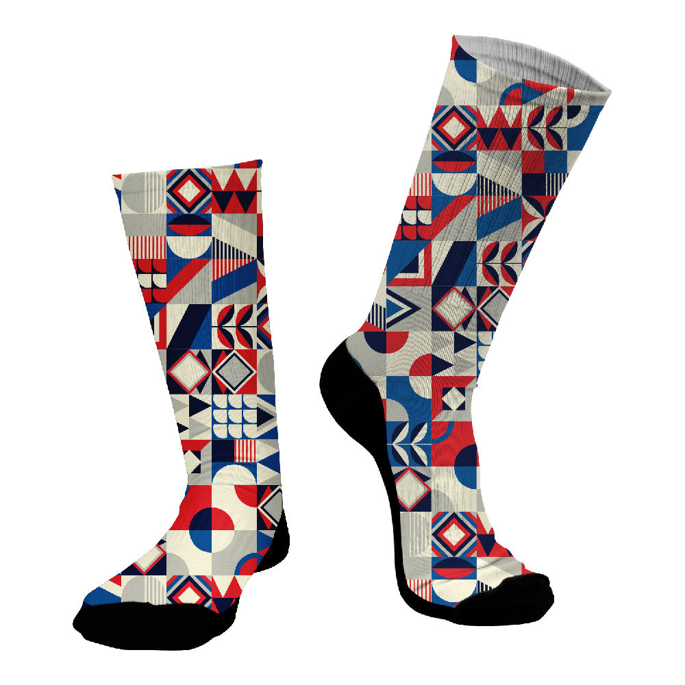 Κάλτσες #doyoudaresocks Digital Printed SuperSport Modern Motivo (code 70030)