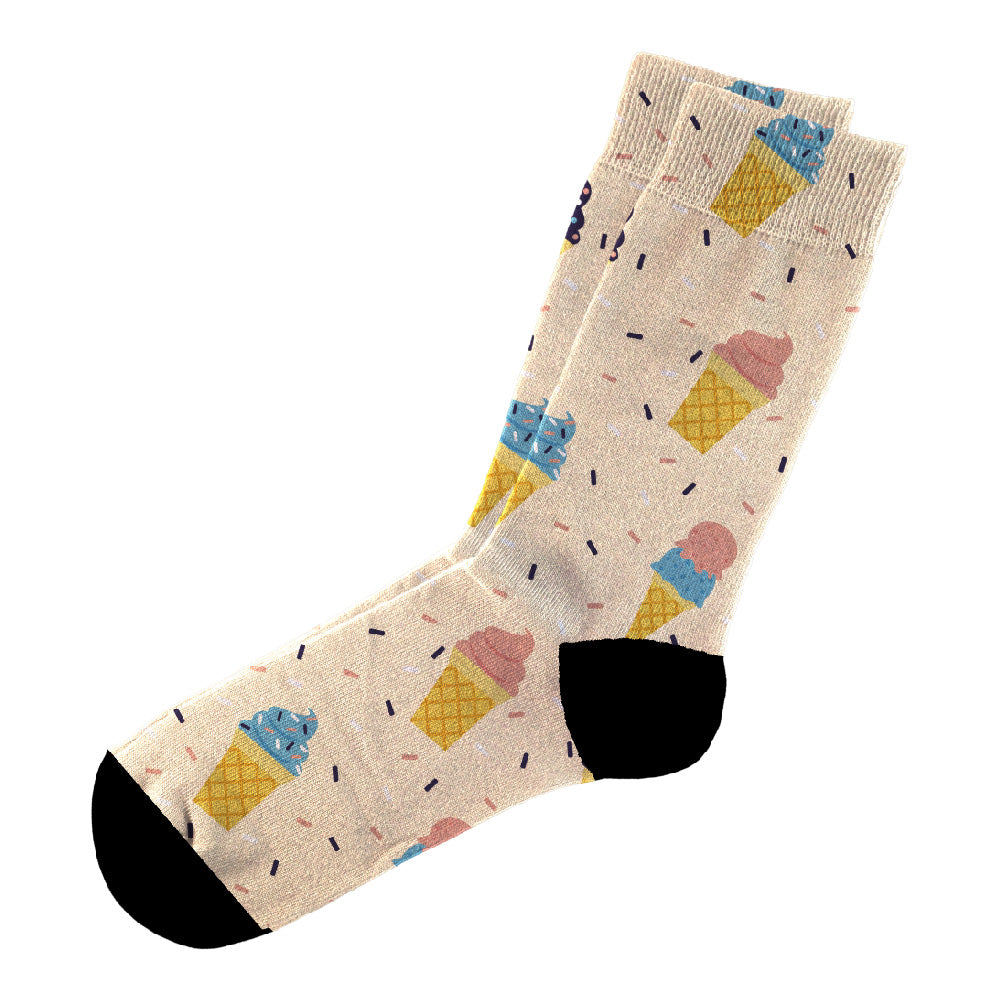Κάλτσες #doyoudaresocks Digital Printed Casual Icecream (code 60020)