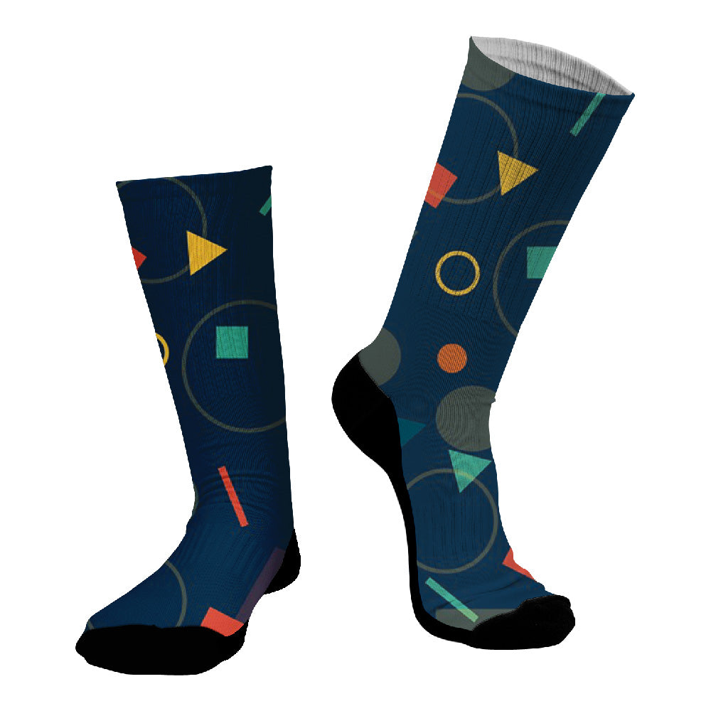Κάλτσες #doyoudaresocks Digital Printed SuperSport Shapes (code 70034)