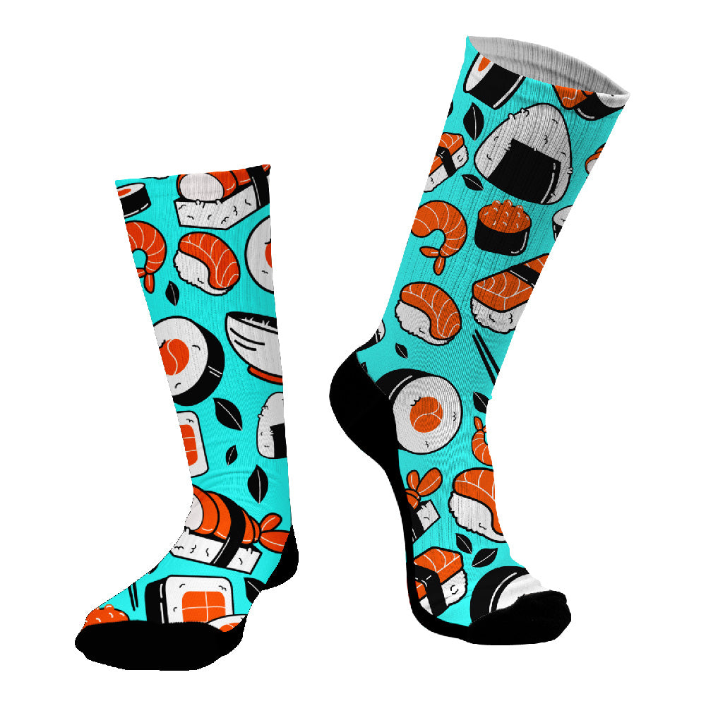 Κάλτσες #doyoudaresocks Digital Printed SuperSport Sushi (code 70037)