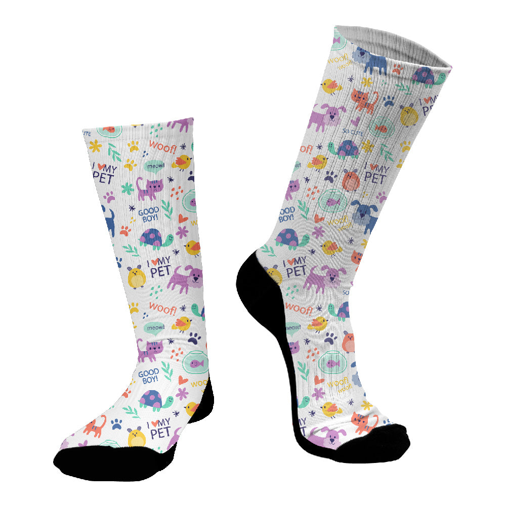 Κάλτσες #doyoudaresocks Digital Printed SuperSport Pet Lovers (code 70054)