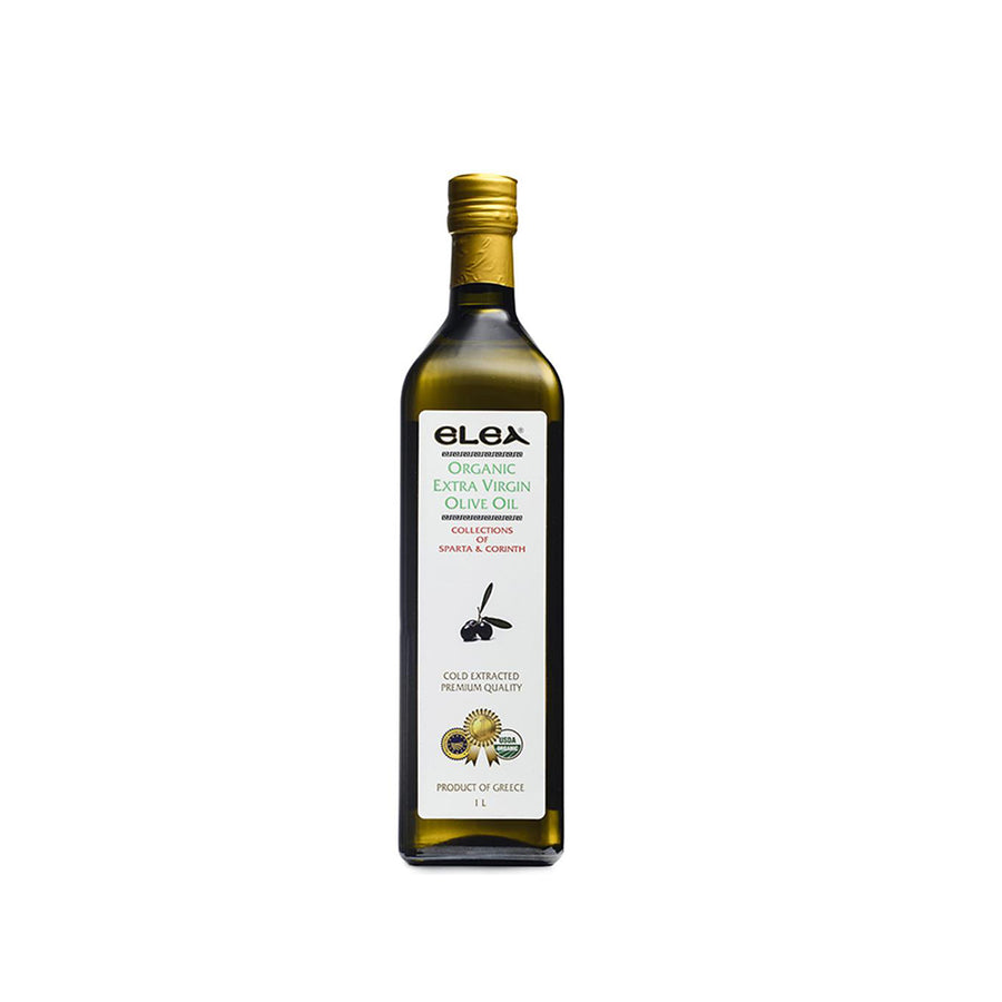 Elea Organic Extra Virgin Olive Oil 500ml and 1L