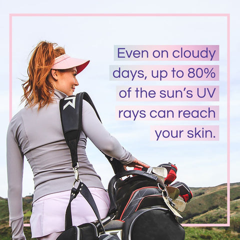 Sunscreen reapplication on cloudy days