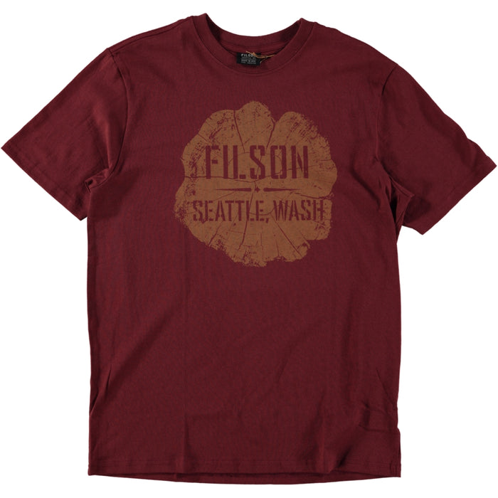 Filson S/S Outfitter Tee Burnt Red