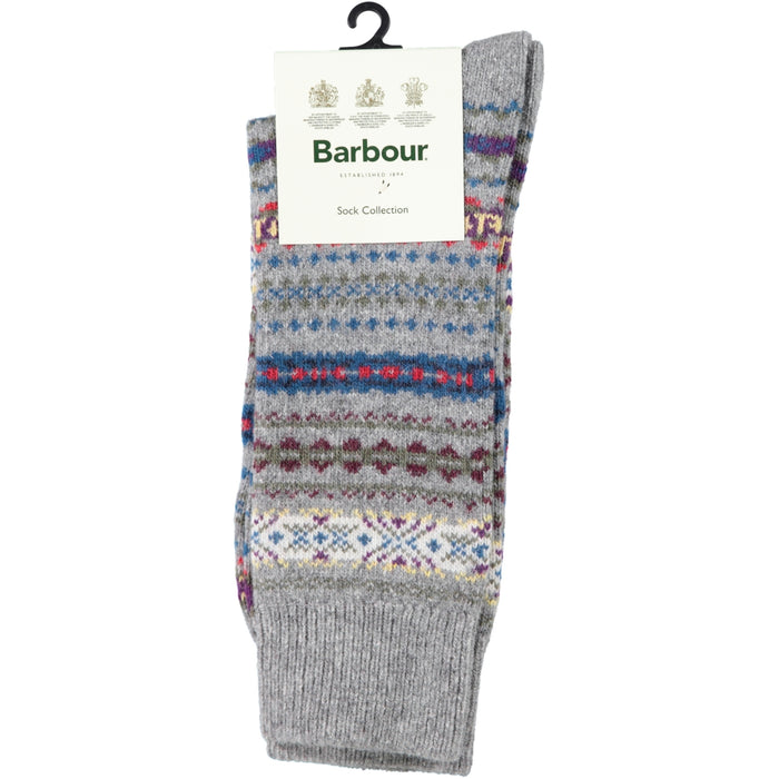 Barbour Boyd Sock Grey Mix