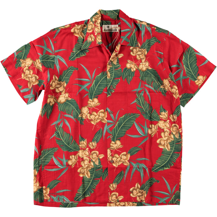 Karmakula Hawaiian Shirt Mcqueen Red