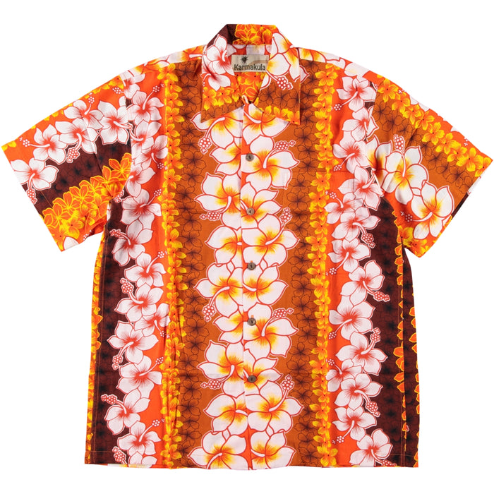 Karmakula Hawaiian Shirt Mariachi Orange