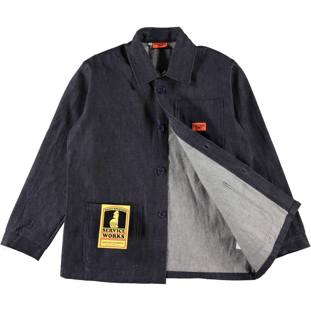 Service Works Bakers Work Jacket Denim