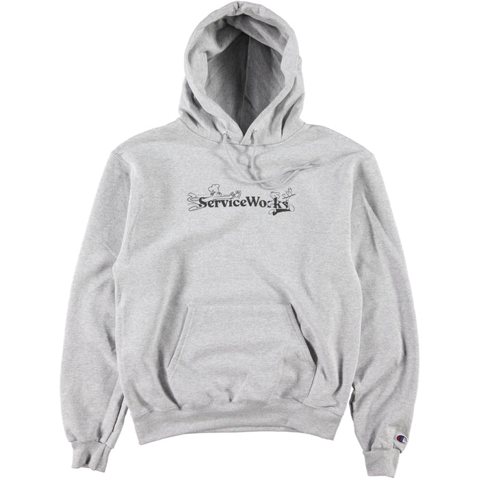 Service Works Chase Hoodie Heather Grey