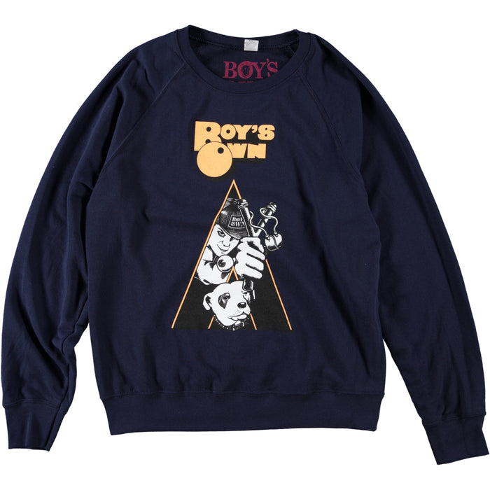 Boy's Own Clockwork Orange Sweatshirt Navy