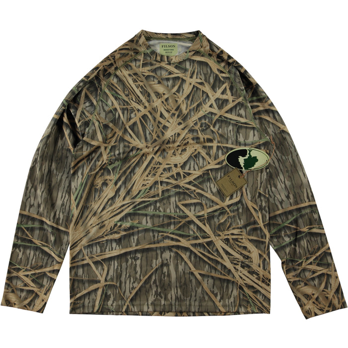 Filson Long Sleeve Barrier T-Shirt Mossy Oak Shadow Grass Camo