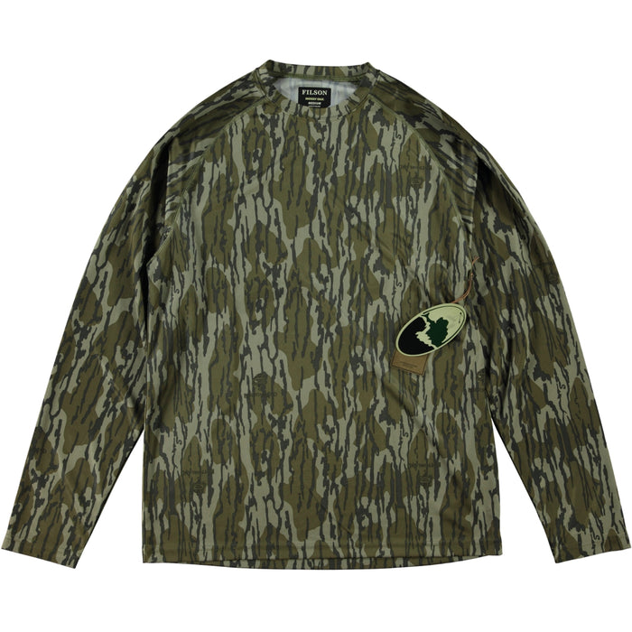 Filson Long Sleeve Barrier T-Shirt Mossy Oak Bottom Land Camo
