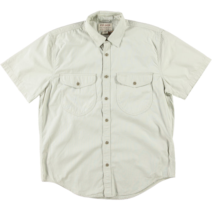 Filson Short Sleeve Field Shirt Gray Sky