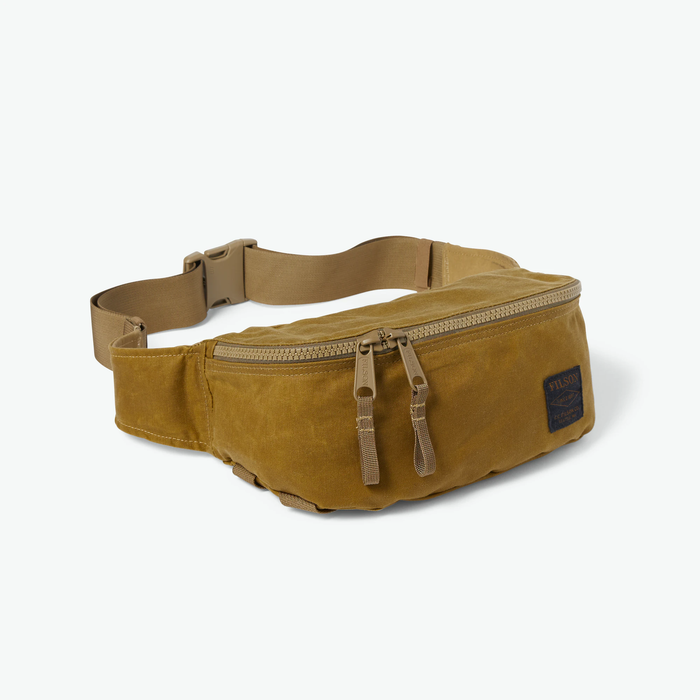 Filson Tin Cloth Waist Pack Dark Tan