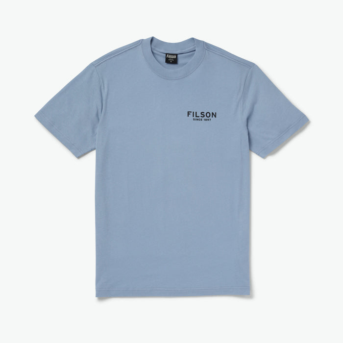 Filson Shirt Sleeve Ranger Graphic T-Shirt Blue Eagle
