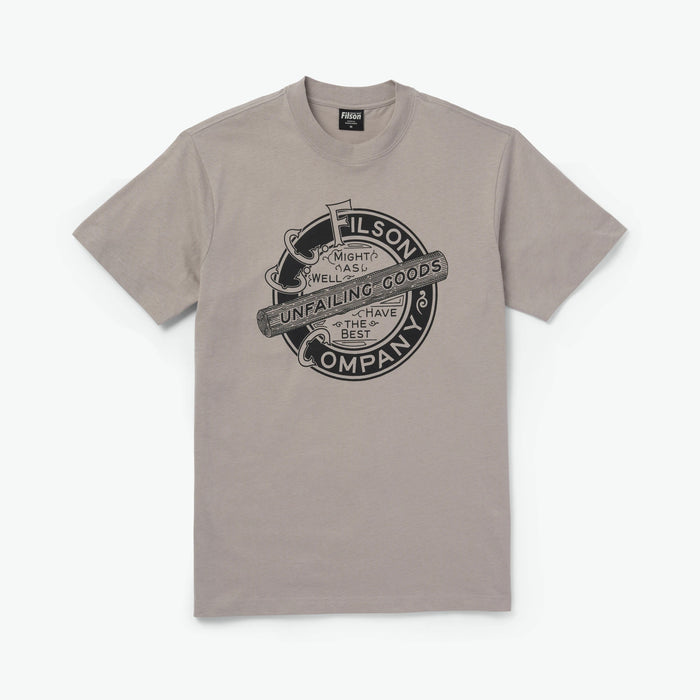 Filson Shirt Sleeve Ranger Graphic T-Shirt Fog Logo