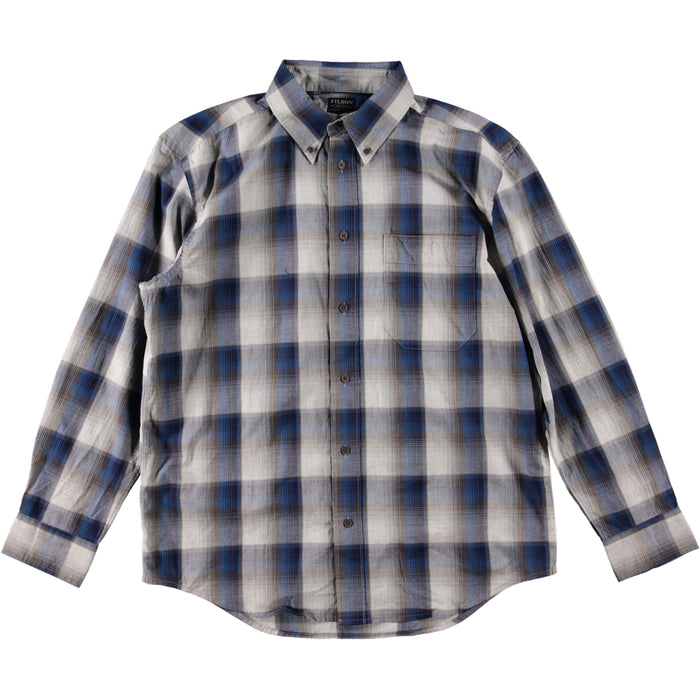 Filson Sutter Sport Shirt Blue Heather Gray