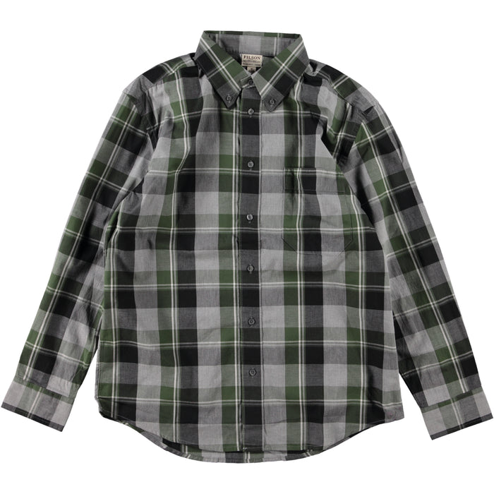 Filson Sutter Sport Shirt Olive Heather Gray