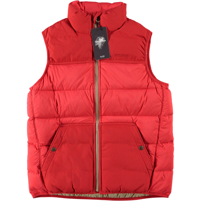 Filson Women's Featherweight Down Vest Bright Red