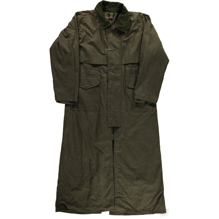 Filson Shelter Duster Coat Alaska Fit Otter Green