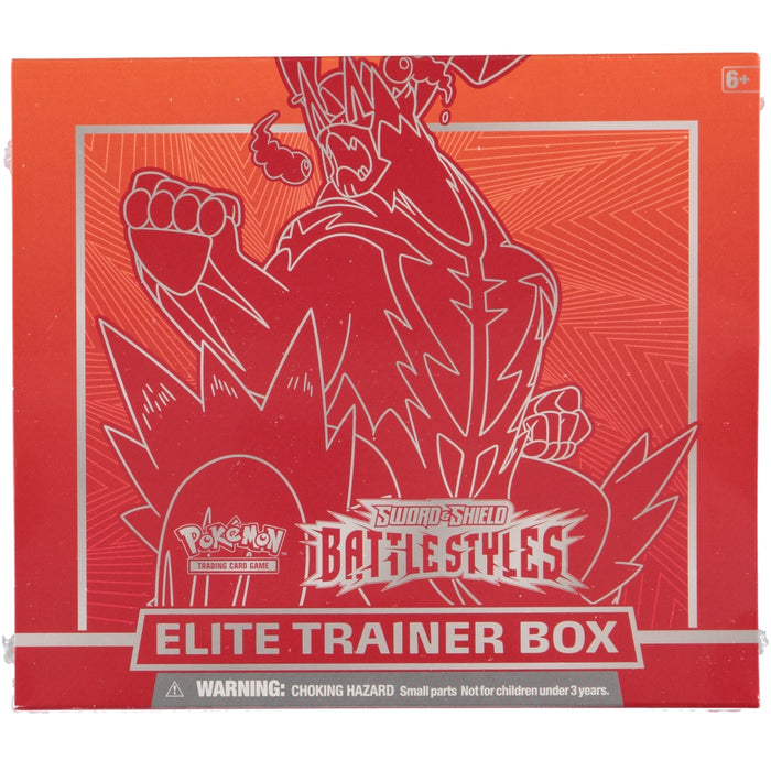 Pokemon TCG Sword & Shield Battle Styles Elite Trainer Box - Red