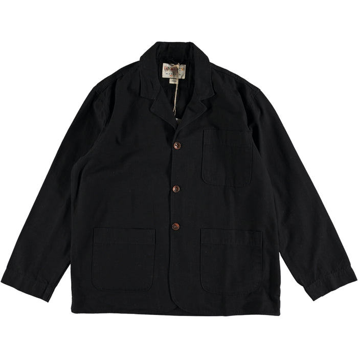 Uskees The #3006 Organic Cotton Blazer Black