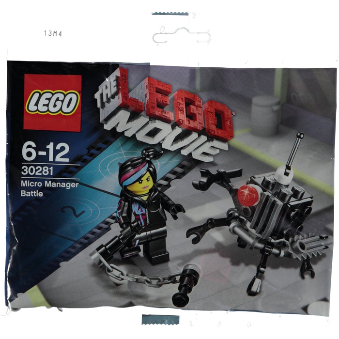 Lego Polybag 30281 The Lego Movie Micro Manager Battle
