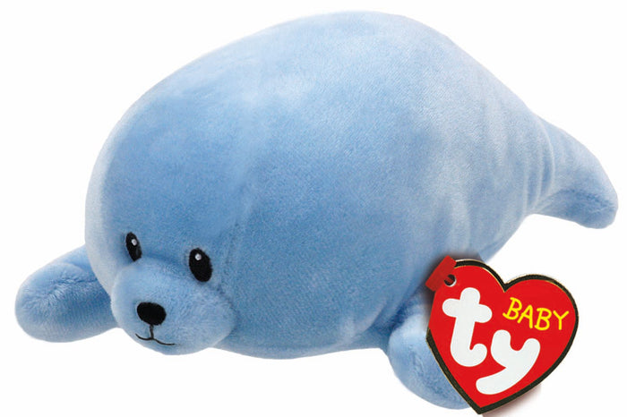 Ty Baby Squirt Blue Seal
