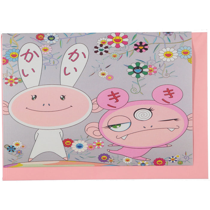 Acme Card Co Murakami Silk Greeting Card 1