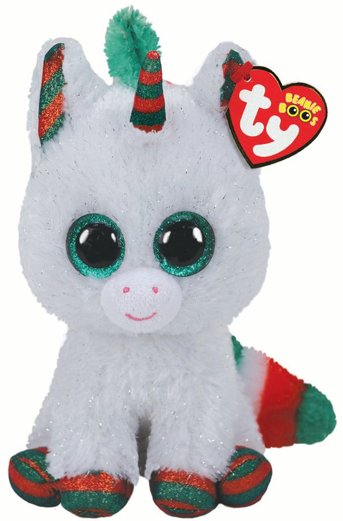 TY Beanie Boos Regular Snowfall Unicorn Christmas 2020