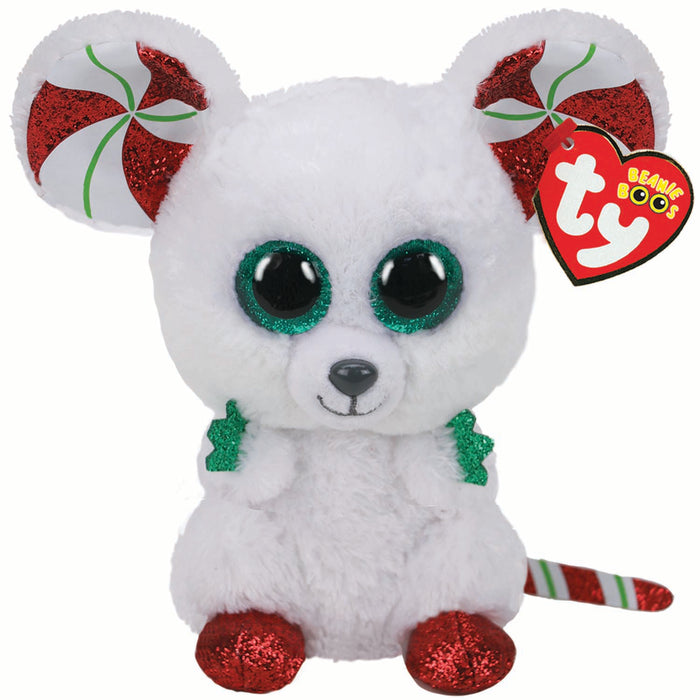 TY Beanie Boos Regular Chimney Mouse Christmas 2020