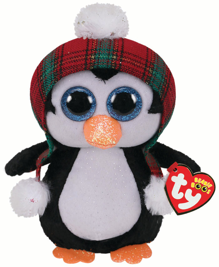 TY Beanie Boos Regular Cheer Penguin Christmas 2020