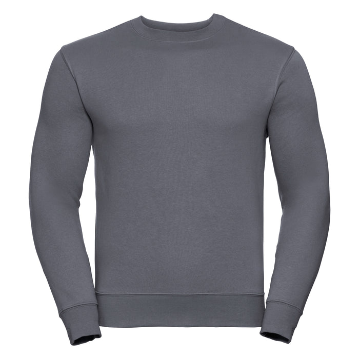 Russell Classic Set In Sweatshirt Charcoal Grey