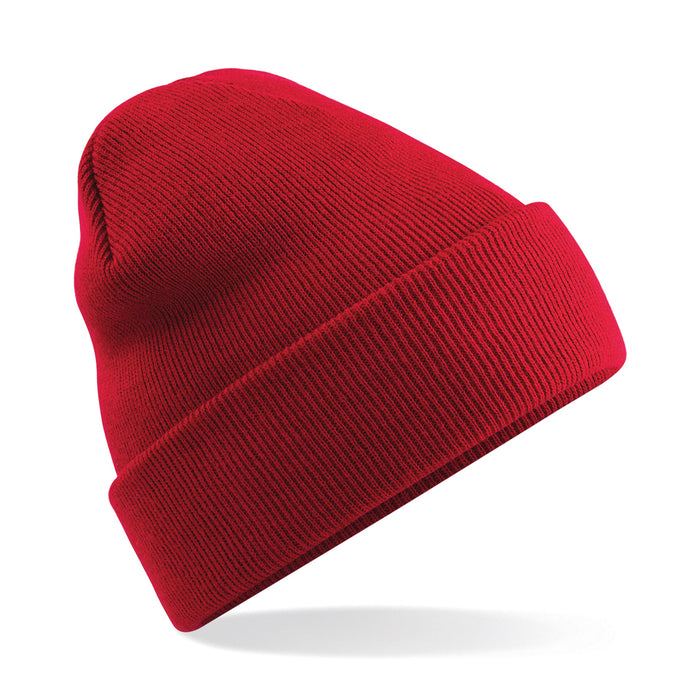 Stylecreep Basics Knit Beanie Red
