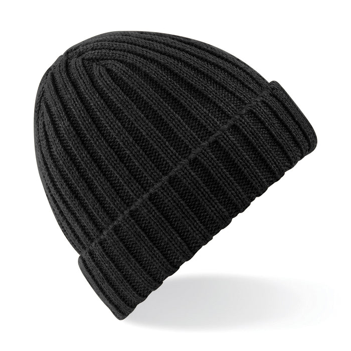 Stylecreep Basics Ribbed Beanie Black