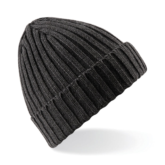 Stylecreep Basics Ribbed Beanie Charcoal