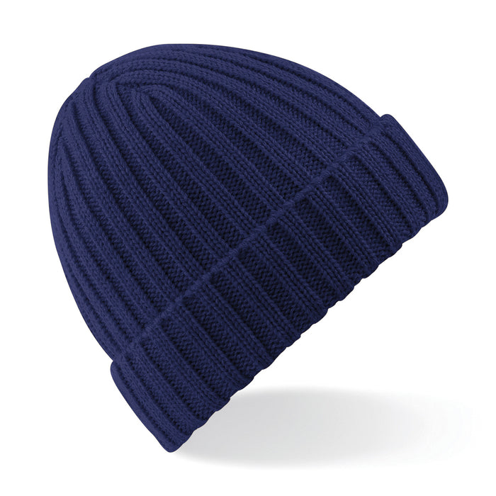 Stylecreep Basics Ribbed Beanie Oxford Navy