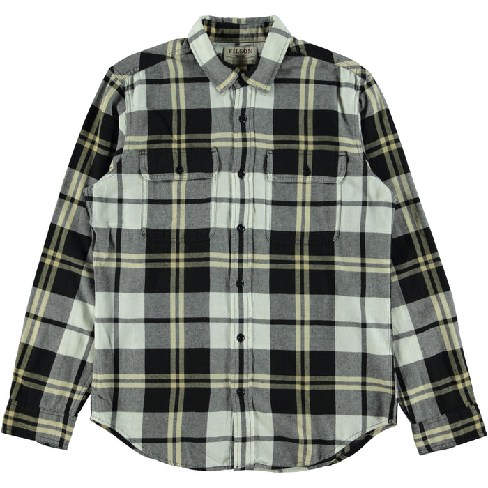 Filson Scout Shirt Check Black White Gold